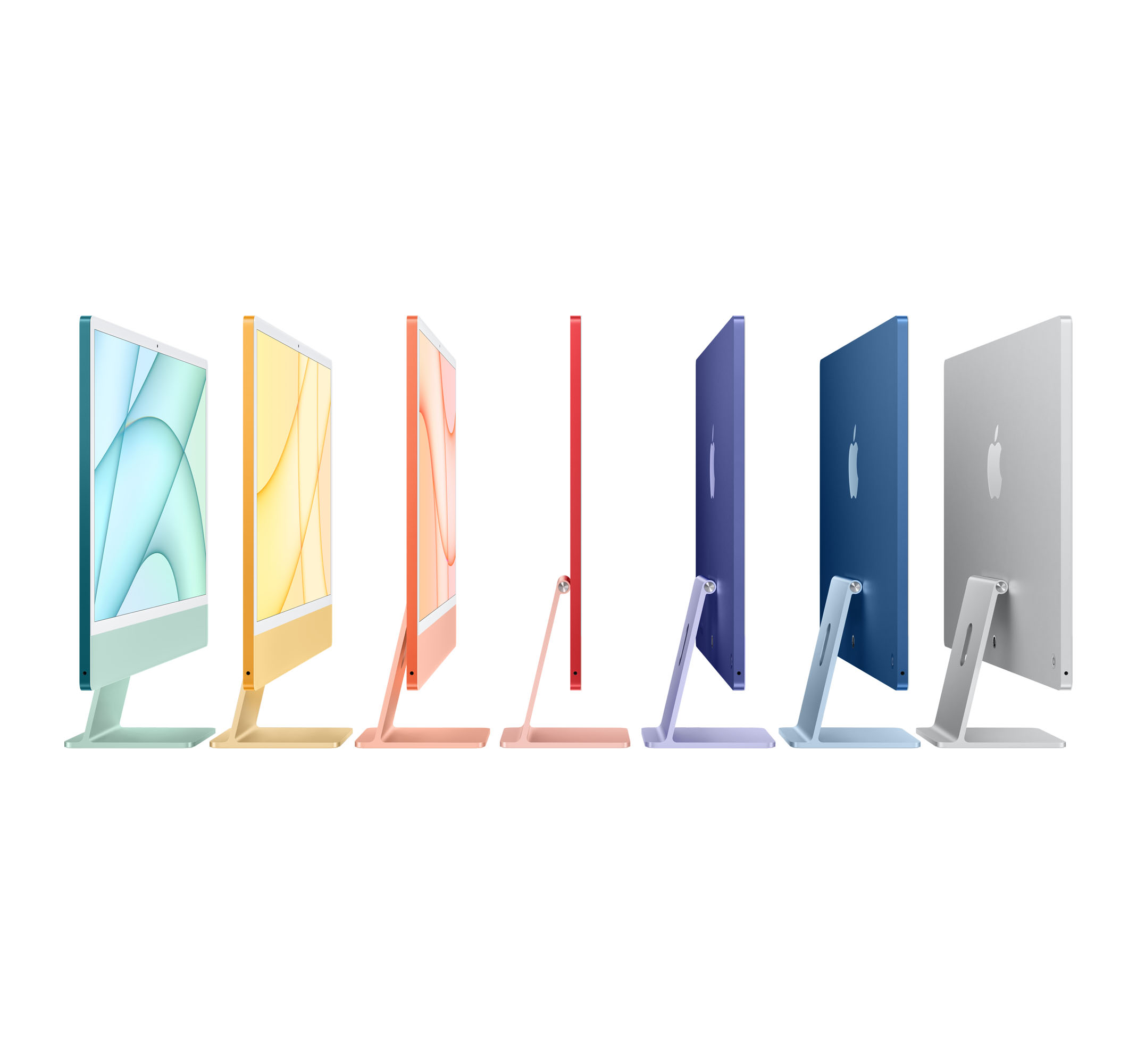 Bild på iMac 24 tum med M1 processor