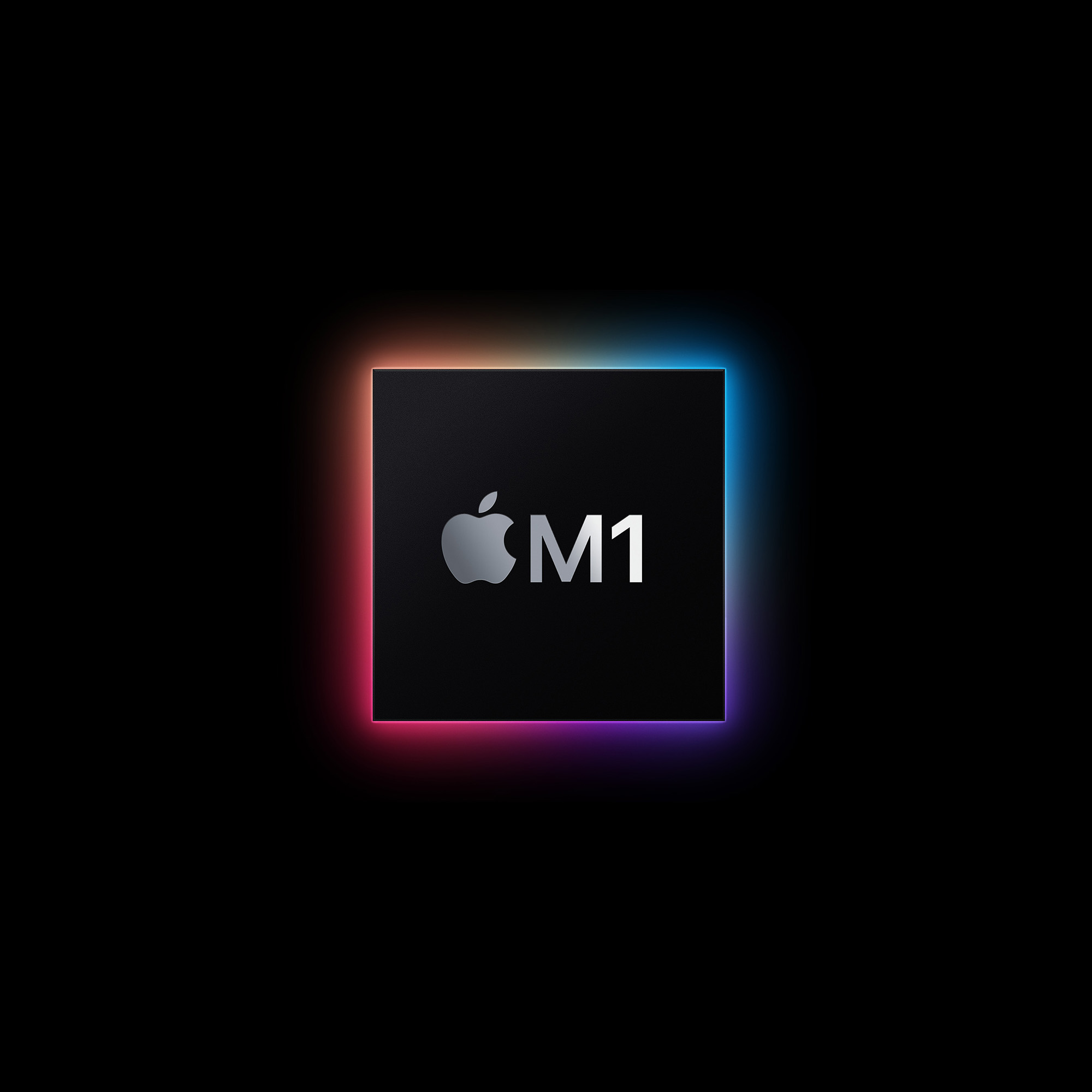 Bild på Apple M1 processorn