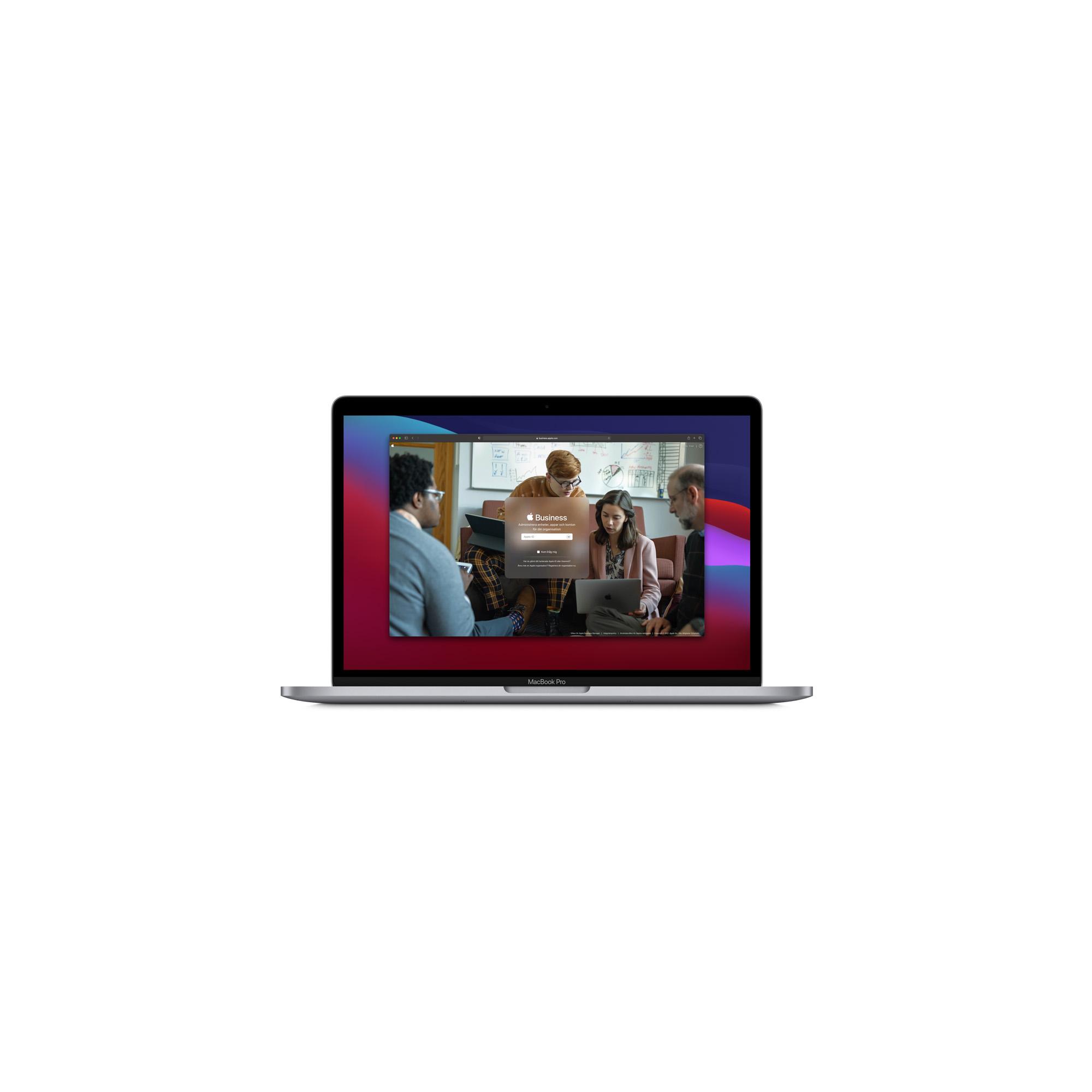 Bild på Apple Business Manager i en Mac