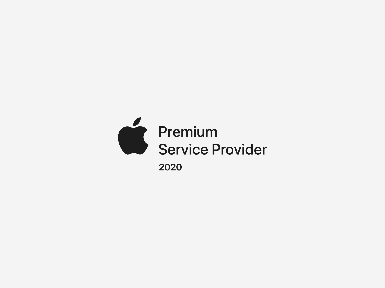 MacRent är en Apple Premium Service Provider 2020
