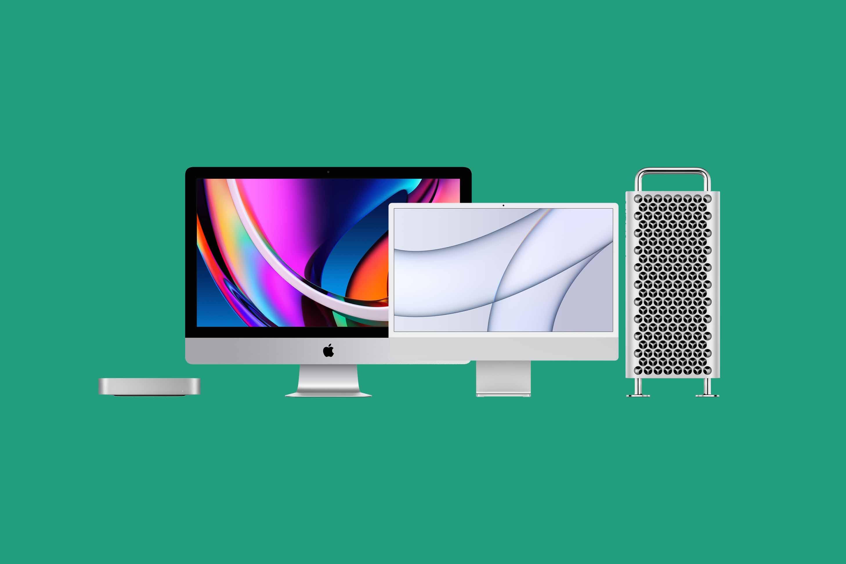 Bild på Mac modeller